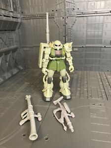 Bandai Mobile Suit Gundam Zeon Zaku 2 Fighter Action Figure  Msia weapon