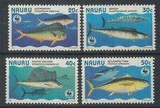 NAURU 1997 WWF GIANT FISHES SET (4) UHM (ID:219/D17575)