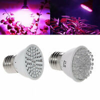 AC 220V E27 3528 38/60/72/80 LED Grow Light Full Spectrum Flower Plant Lamp