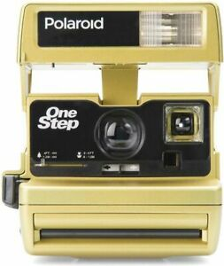 Polaroid 600 Sofortbildkamera GOLD One Step Close up   [Refurbished]