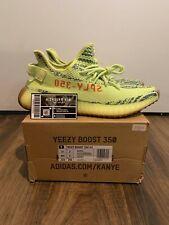 Adidas Yeezy Boost 350 V2 Semi Frozen Yellow  B37572 - Size 10 (FAST SHIPPING)