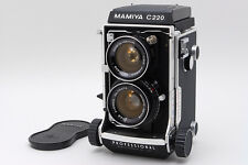 TOP MINT+++ Mamiya C220 Medium Format TLR Film Camera with 55mm lens From Japan