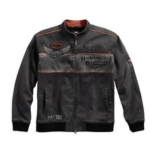 Harley-DavidsonMen's Iron Block Casual Jacke Gr. M - Herren, grau