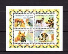 Congo 1999 Animals Dogs MNH Mi.1637-70