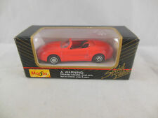 Maisto 11001 Ford Mustang Mach III convertible Bright Red scale 1:64 Boxed 2000
