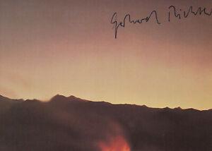"GERHARD RICHTER --- ""Vesuv, 1976"" - original signiert - A6#30"