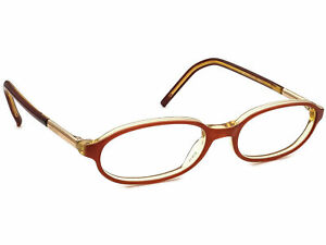 Gucci Eyeglasses GG 1103 S6G Brown/Gold Oval Frame Italy 51[]17 140