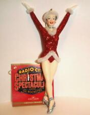RADIO CITY MUSIC HALL ROCKETTES CHRISTMAS ORNAMENT NEW