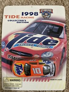 TIDE 1998 RICKY RUDD NASCAR RACING CAR #10 COLLECTOR'S EDITION 50th ANNIVERSARY