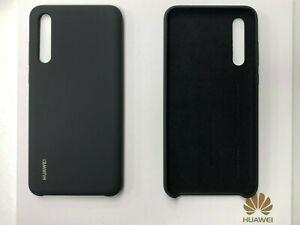Genuine Huawei P20 Pro Silicone Case Cover Slim Thin Soft Black Tough