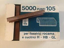 PUNTI CUCITRICE ROCAMA mod. 105 (h.mm.5) cf.5000