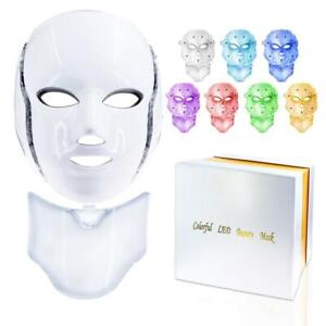 Bright 20W LED 7 Colour Beauty Mask Micro-current, Nogier freq, Skin Rejuv