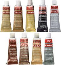 AMACO Rub 'n Buff Wax Metallic Finish ** Pick a Color  ** - Same Day Shipping