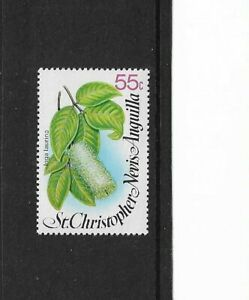 1980 ST. CHRISTOPHER, NEVIS AND ANGUILLA -  FLOWERS - SINGLE STAMP - MNH