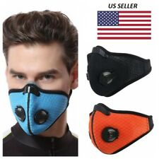 High Quality Colored Outdoor Summer Sports Face Mesh Cover Built in Filter US