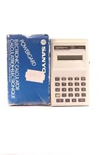 SANYO ELECTRONIC CALCULATOR CX-111 MADE IN CHINA