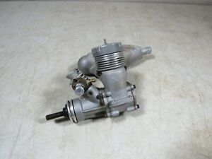 Vintage K&B 40 R/C Control Line Airplane Engine W/Muffler