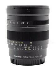 Obiettivi Tokina Sony FE per fotografia e video