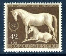 Germany 1944 Brown Ribbon Horse Race MNH D724 ⭐⭐⭐⭐⭐⭐