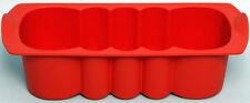 Tupperware Silikon-Kasten-Welle H20 – geringe Gebrauchsspuren – rot