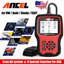 Full Systems OBD2 Scanner for VW Audi Skoda  EPB ABS SRS TPMS Injector Oil Reset