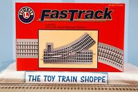 LIONEL 81252 FASTRACK O31 LEFT-HAND MANUAL SWITCH. NEW IN BOX.