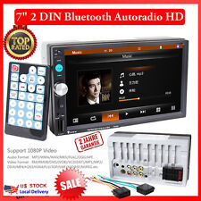 "7"" 2 DIN Autoradio Bluetooth Touch Screen MP3 MP5 Player Stereo Audio FM/USB/SD"