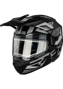 FXR MAVERICK MODULAR Snowmobile HELMET with ELECTRIC Heated SHIELD- L - XL - 2XL