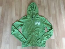 Abercrombie & Fitch Hoodie / Sweatjacke / Jacke, grün, M / L