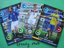 Road to UEFA Euro 2016 all 144 Base Cards complete Adrenalyn Panini Team Mate