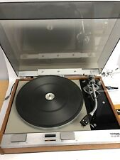 THORENS TD-125 MKII TURNTABLE WITH ACCESSORIES VINTAGE - Tested