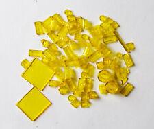 transparente Steine: gelb