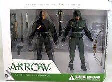ARROW Box 2 Figure Action 18cm OLIVER QUEEN e DEATHSTROKE Original DC FIGURES