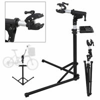 Pro Bicycle Aluminum Repair Stand w/Telescopic Arm Mountain Bike Cycle Rack