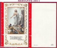 1480 SANTINO HOLY CARD GESù CRISTO RISORTO FB BONELLA 584 - I. P. 5