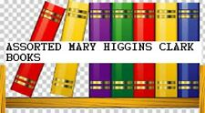MARY HIGGINS CLARK HARD/SOFT COVER NOVELS ASSORTED, 3 TITLES to choose from