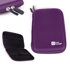 Hard EVA Purple Protective Carry Case / Cover for Linx Vision 8 inch Tablet