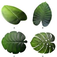Tropical Palms Leaf Shape Non Slip Placemat Insulation Mat Kitchen Dining Table