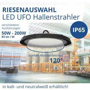 LED Hallenstrahler runde LED Hallenbeleuchtung IP65 Industrielampe UFO Highbay