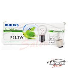 10x Philips P21/5W EcoVision 12499ECOCP