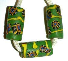 Antique Venetian Beads W Italian Millefiori Murrine Cane Inserts, African Trade