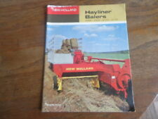 1967 New Holland Hayliner Balers 268 269 272 275 Sperry Rand Sales Brochure
