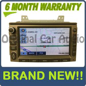 2006 - 2011 Hyundai Azera Veracruz OEM LG Navigation CD MP3 SAT Radio Beige