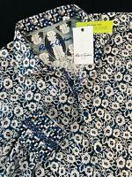 Robert Graham Hallock Floral Long Sleeve Sport Shirt Medium $228