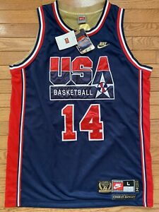 Nike Authentic 1992 Olympic Dream Team USA Charles Barkley Jersey Large New Tags