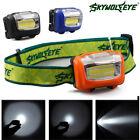 Mini Headlamp 300Lumens LED 3 Modes Flashlight Lamp Head Torch Camping Light H