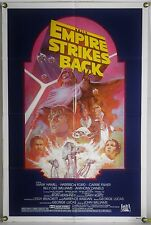 THE EMPIRE STRIKES BACK FF ORIG 1SH MOVIE POSTER LUCAS STAR WARS RR82 (1980)