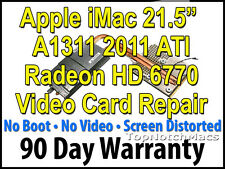 "APPLE IMAC 21.5"" 2011 A1311 ATI RADEON HD 6770 VIDEO CARD REPAIR 661-5967"