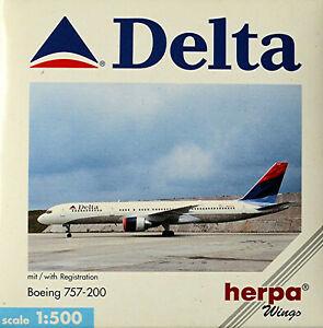 Delta Air Lines Boeing 757-200 - Avion 1:500 Herpa Wings 503860