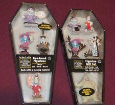 Nightmare Before Christmas Mini-Figurine Set of Two Tim Burton NBC New Applause